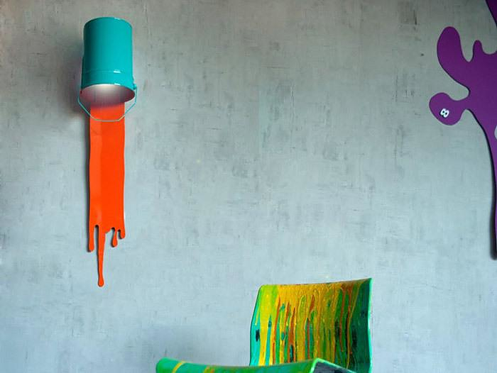 Oups! Lamp by Nathalie Bernollin.
