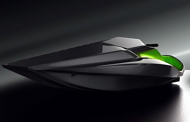 Green Samba Electric Jet Ski