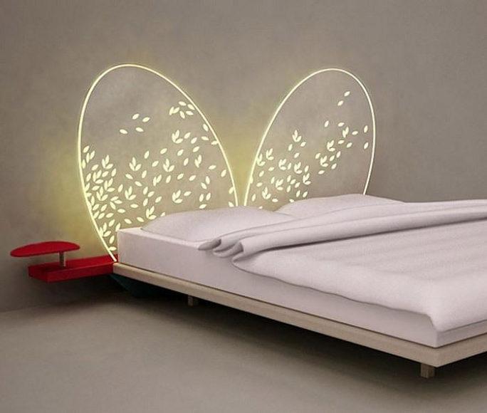 Προσκέφαλο κρεβατιού Mariposa από την Adele-C.