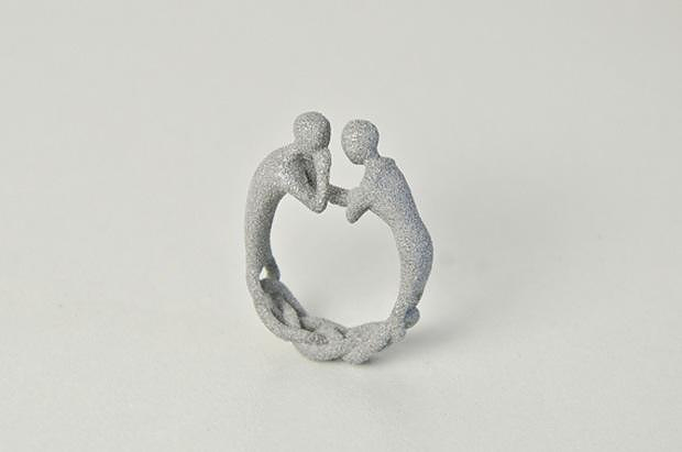Two-Gether Ring by Studio Mango.