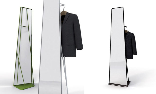 Watergate Mirror by Roberto Paoli for spHaus
