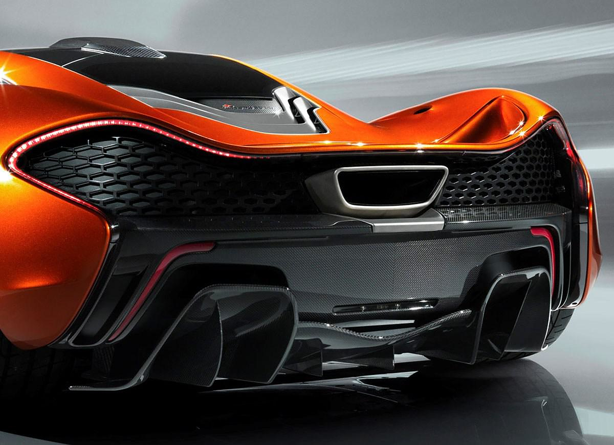 2012 McLaren P1 Supercar.