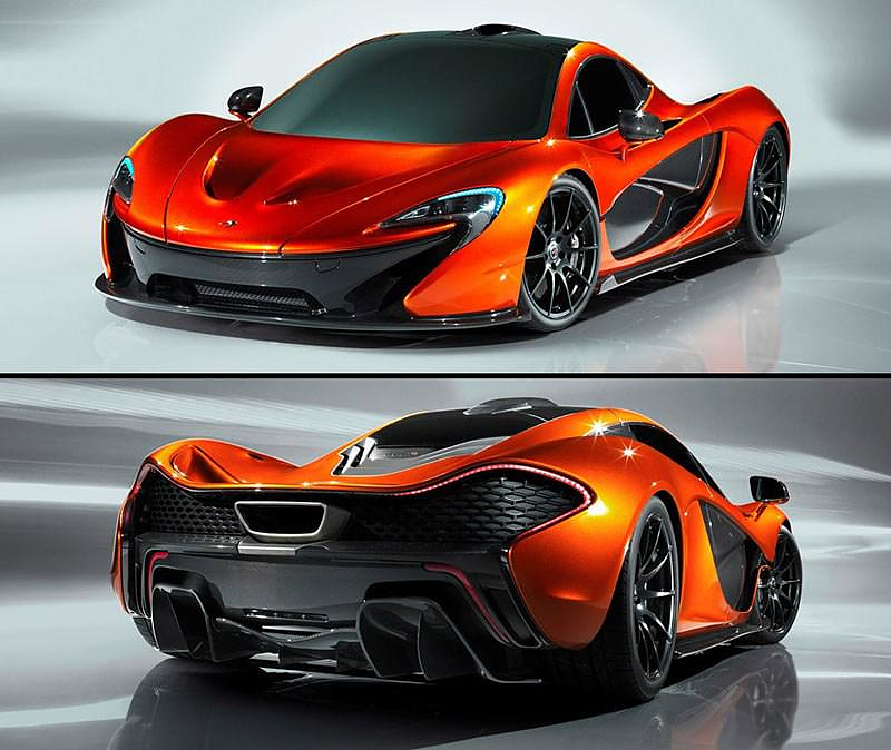 The Best Looking Supercar Of 2013 Mclaren P1