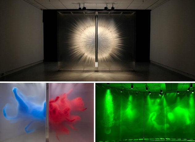 3D Art Installations by David Spriggs