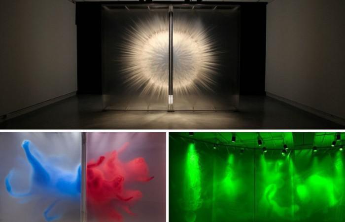 3D Art Installations by David Spriggs