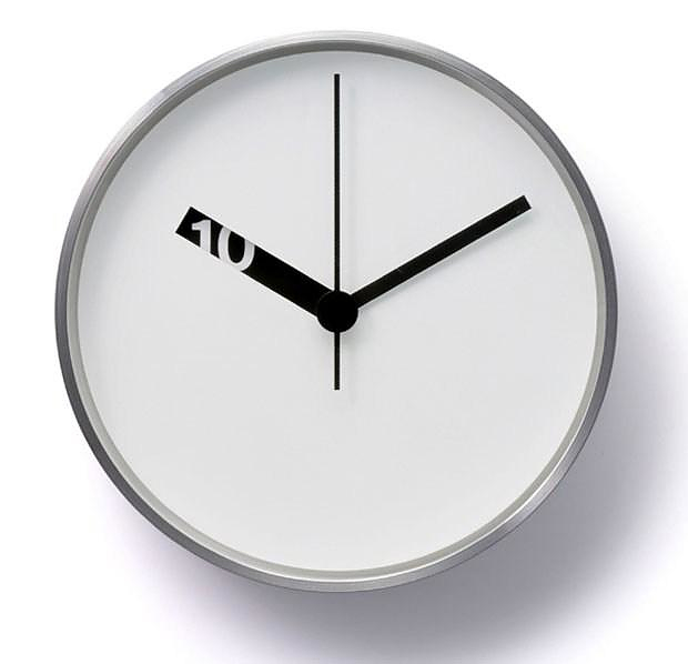 Extra Normal Wall Clock by Ross McBride.
