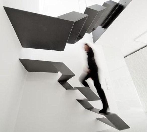 Büro-Loft F27 Floating Stairs by Schlosser + Partner