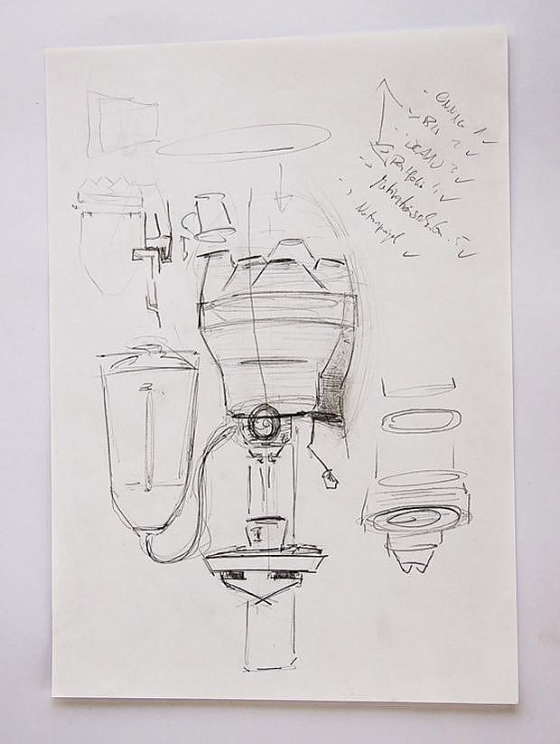 Porcelain Espresso Machine by Arvid Häusser.