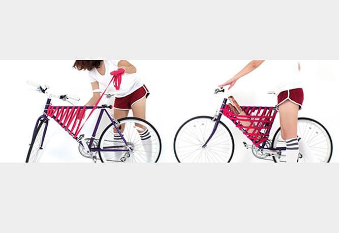 Reel Bike Storage System by Yeong Keun Jeong.