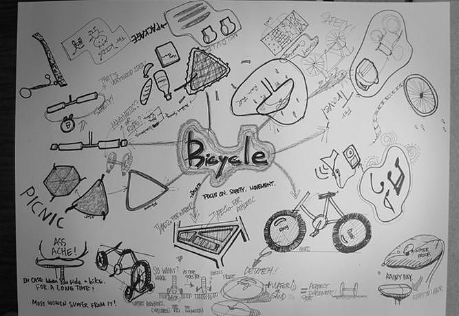 Αυτοσχέδια τσάντα ποδηλάτου Reel από τον Yeong Keun Jeong.