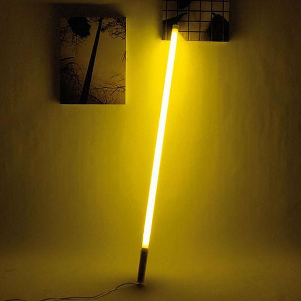 Seletti Fluobar Fluorescent Neon Lamp Design Is This