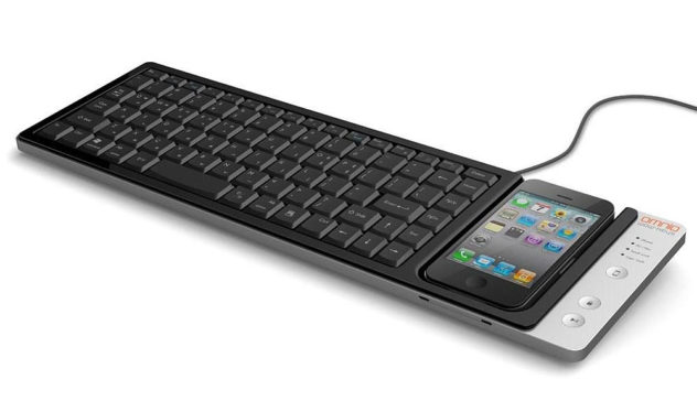omnio wow-keys iPhone keyboard dock