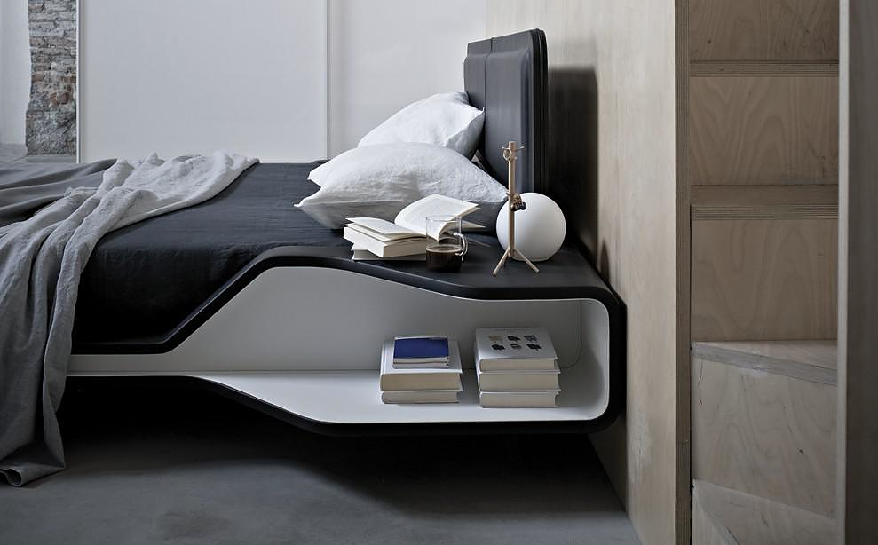 Ayrton Bed by Ora Ito for Frighetto.