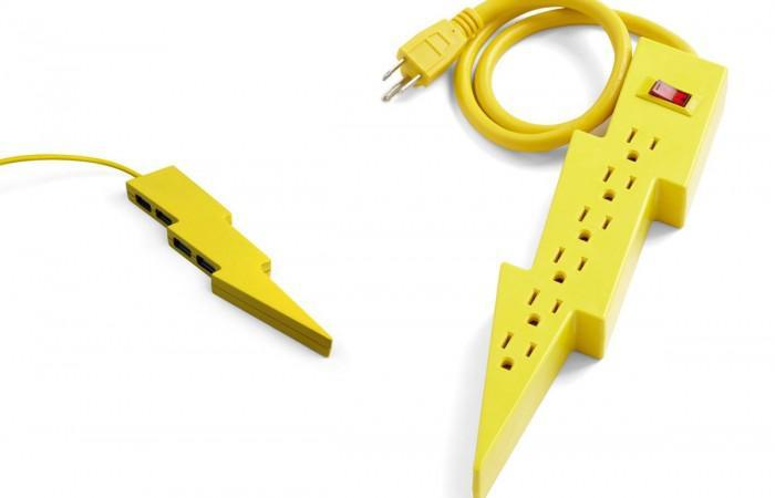 Kikkerland Thunderbolt USB-Hub and Power Strip