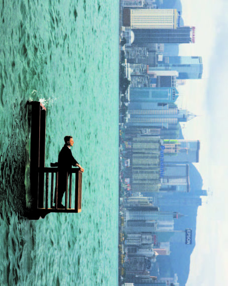 Surreal Photography by Philippe Ramette.