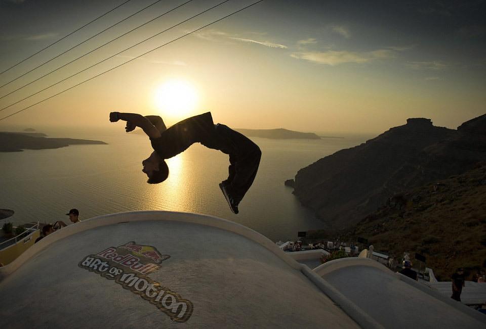 Red Bull Art of Motion 2012 Santorini.