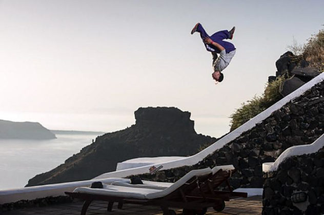 Red Bull Art of Motion 2012 Santorini