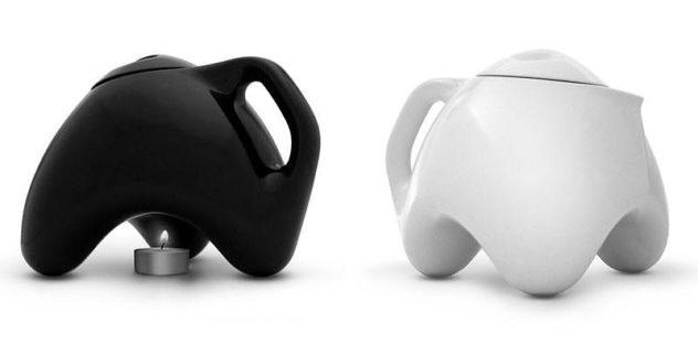 Tripot Teapot by Matthew Pauk