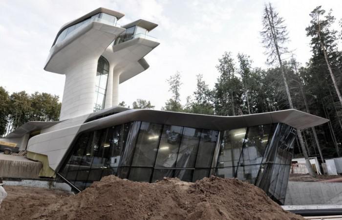 Zaha Hadid Capital Hill Residence for Naomi Campbell