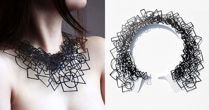 Air Tattoo Paper Jewelry by Logical Art