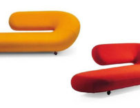 Do lo rez sofa by ron arad for moroso design is this for Artifort cleopatra chaise longue