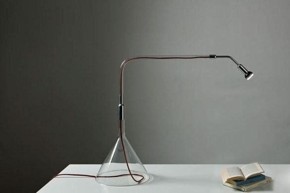 Gost directional LED table lamp by Alessandro Marelli