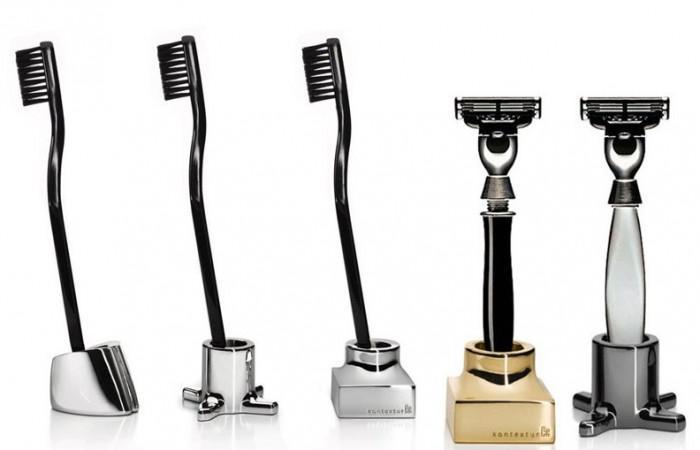 Kontextur VIKTOR Toothbrush Razor Holders