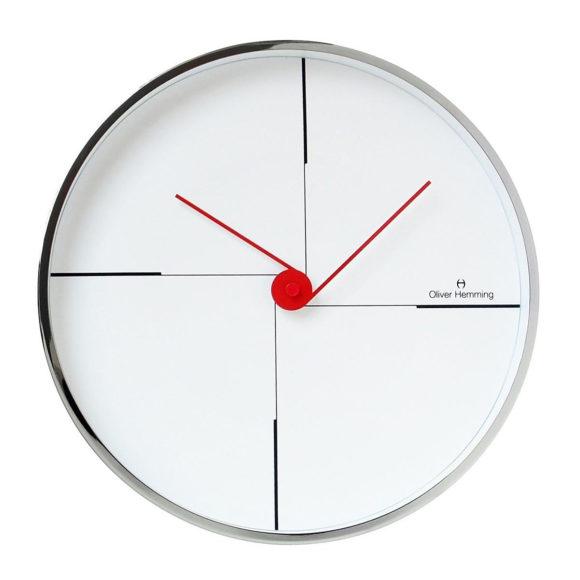 Διακοσμητικό ρολόι τοίχου Oliver Hemming W300S9W.