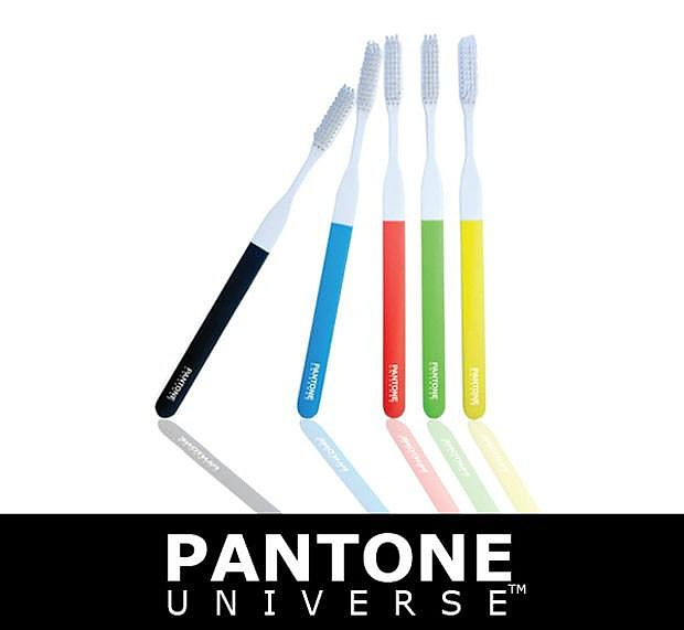 Pantone Toothbrush by Kikkerland