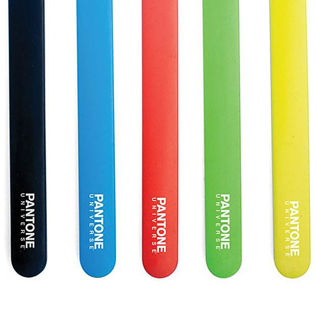 Pantone Toothbrush from Kikkerland.