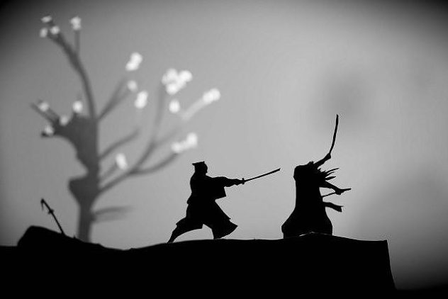 Paper-Cut Action Silhouettes by David A. Reeves