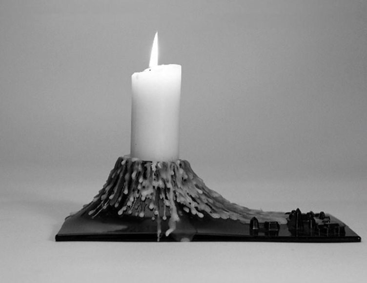 Pompeii Candle Holder by Claudio Colucci.