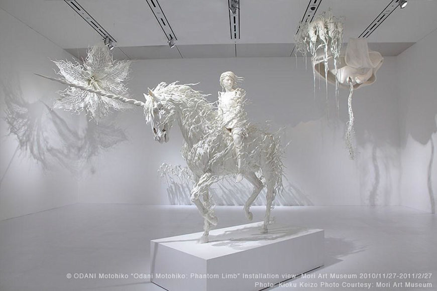Stunning and unsettling Sculptures by Motohiko Odani.