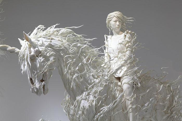 Sculpture by Motohiko Odani