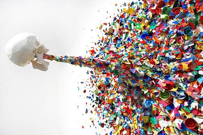 Confetti Death από τον TYPOE.
