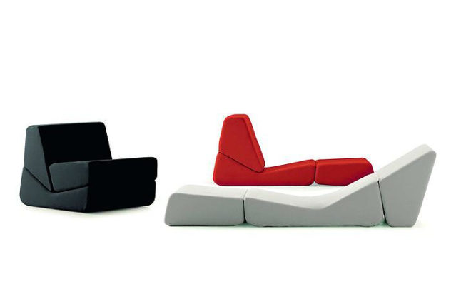 Galeotta Sofa Bed by Bonacina