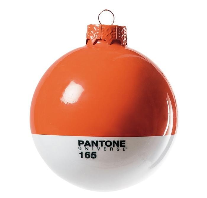 Pantone Christmas Ornaments by Seletti.