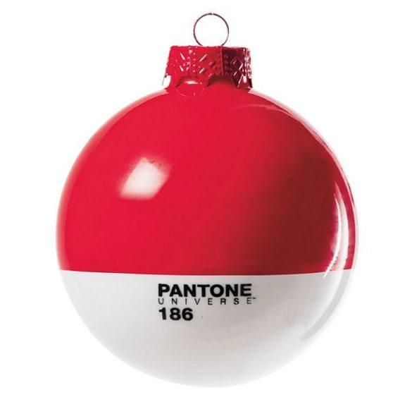 Μοντέρνες χριστουγεννιάτικες μπάλες Pantone.