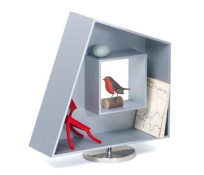 Διακοσμητικά ράφια Cornell Boxes της Alison Smithson για την Tecta.