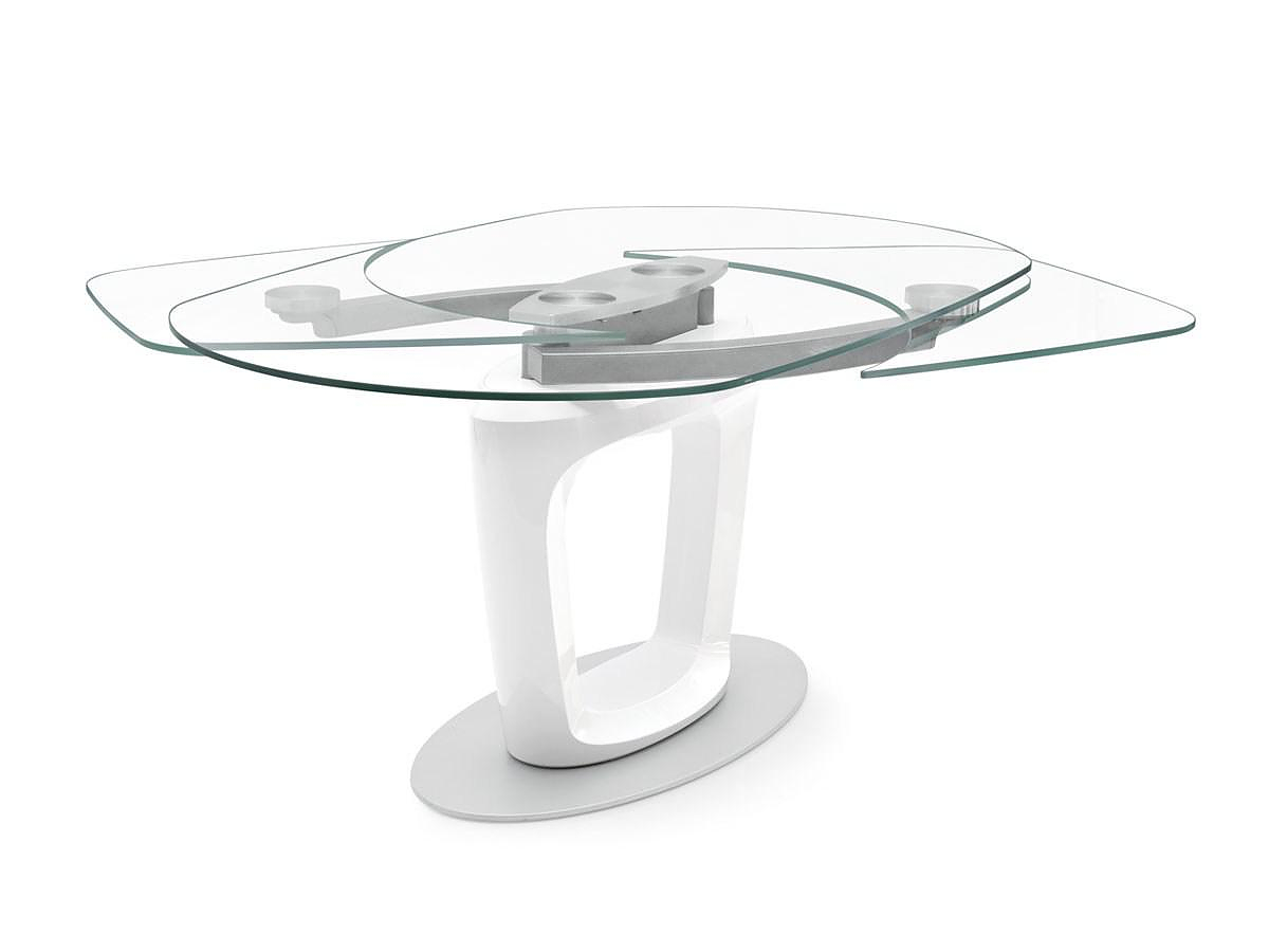 Calligaris orbital extending table by pininfarina for Tavolo orbital calligaris offerte