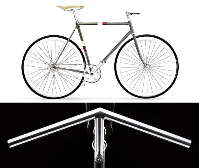 Italia Veloce Tailored Retro Bikes, a work of Italian craftsmanship.