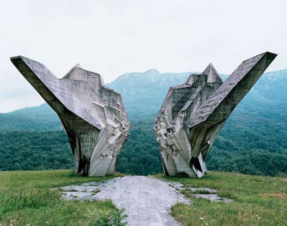 Spomenik The Monuments of Former Yugoslavia