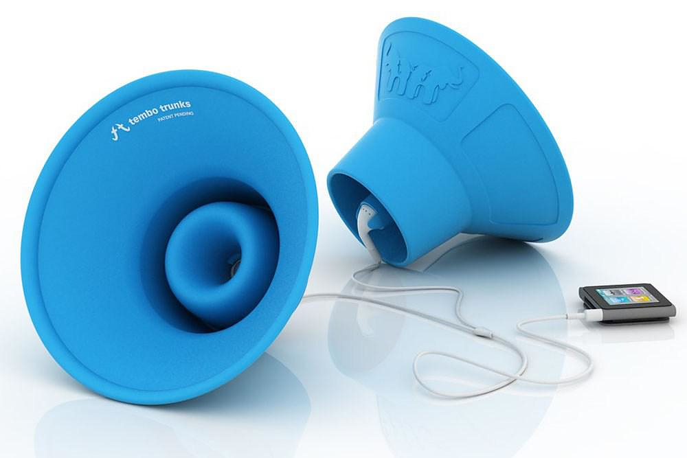Tembo Trunks Earbud Speakers.