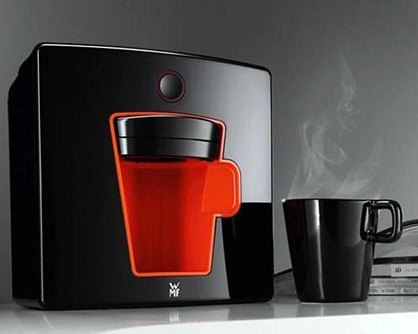 Coffee For One With The Stylish WMF1 Coffee Machine.
