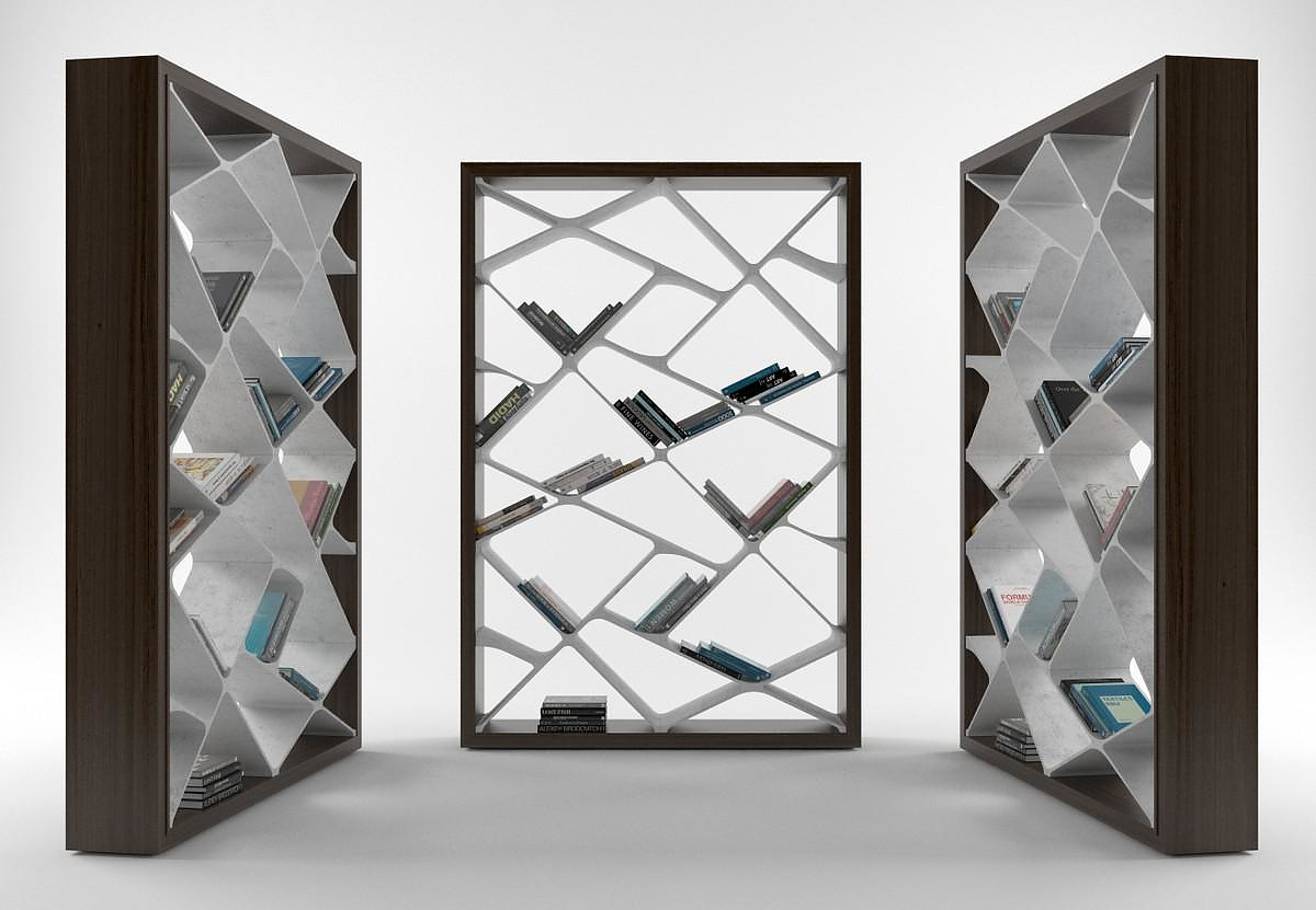 Alivar Shangai Bookcase by Giuseppe Bavuso.