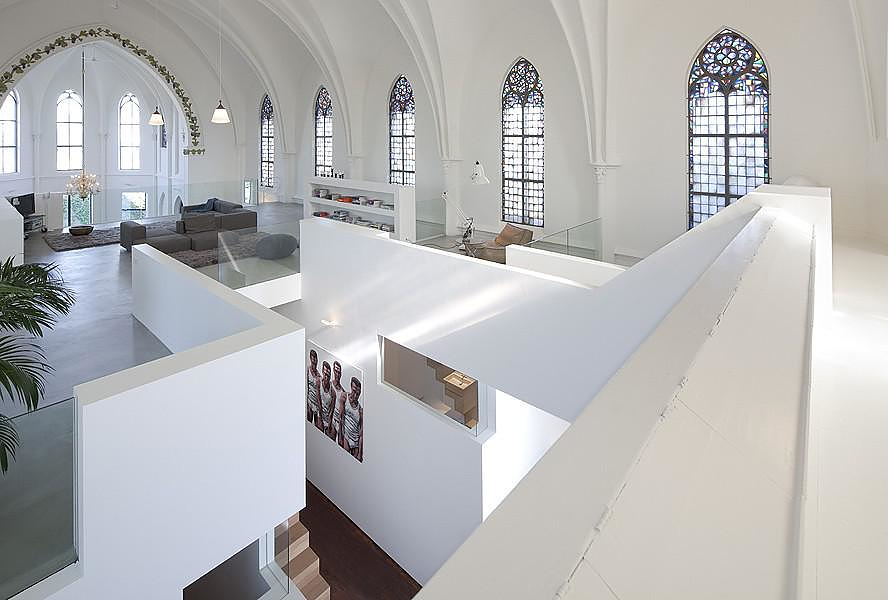 Church Residence by Zecc Architecten Utrecht.