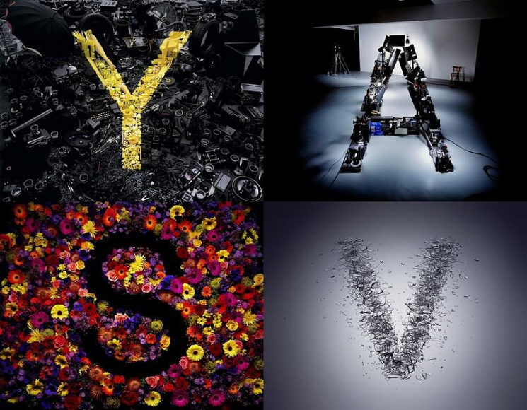 Artistic Typography: Alphabetical by Dan Tobin Smith.