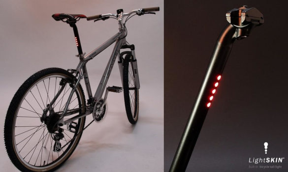 LightSKIN Bicycle Built-In LED Tail Light