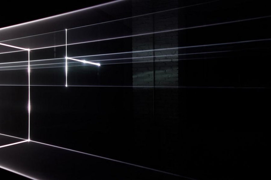 Vanishing Point – Renaissance Perspective Drawing with Lasers by United Visual Artists.