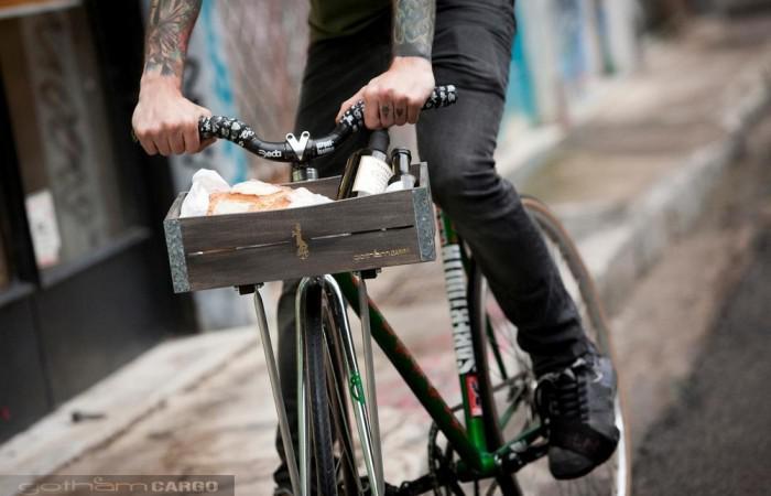 Gothamlab bicycle basket